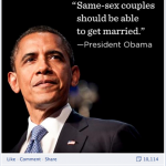 A few thoughts in light of President Obama's support of gay marriage