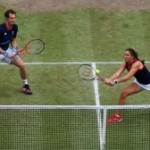 Mixed-doubles tennis as a metaphor for marriage