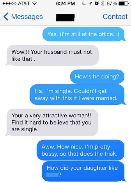 Sexting in marriage