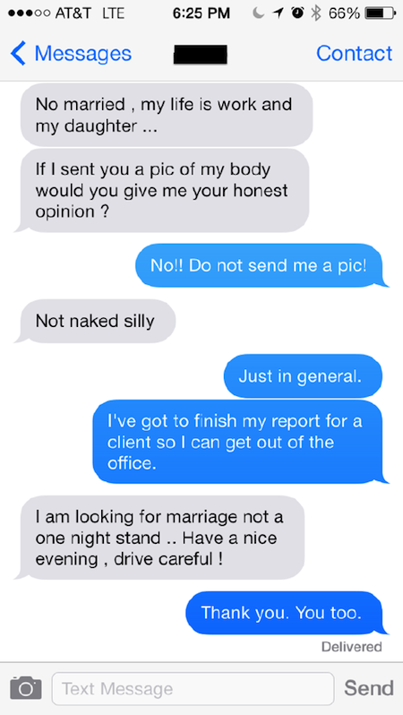 Text etiquette for dating